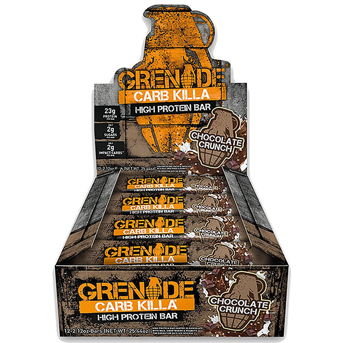 Image of Grenade Carb Killa Bars 12 Bars Chocolate Crunch
