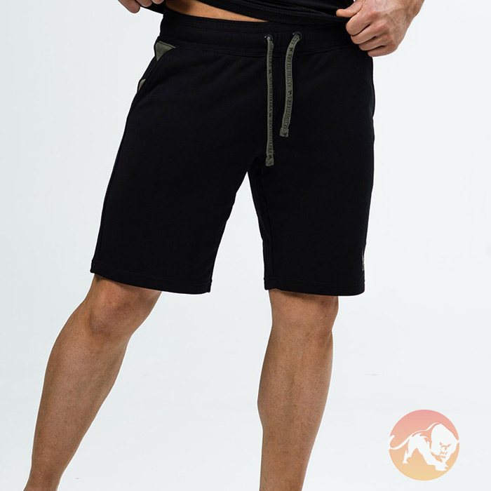Shorts Black Army Green Large