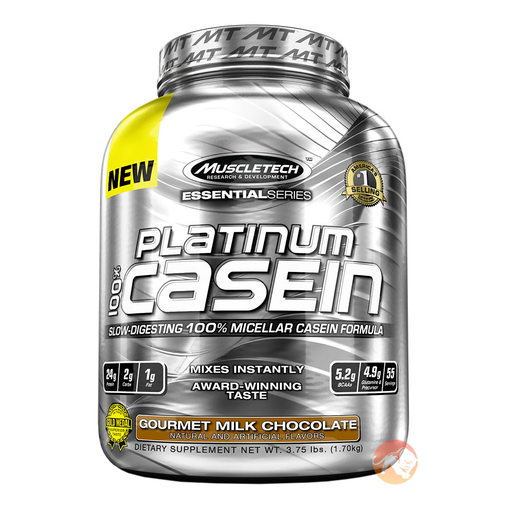 Platinum 100% Pure Casein 1.7kg (3.75lb) - Chocolate