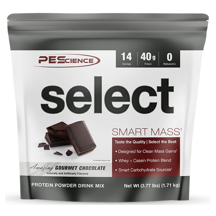 Select Smart Mass 14 Servings Gourmet Chocolate