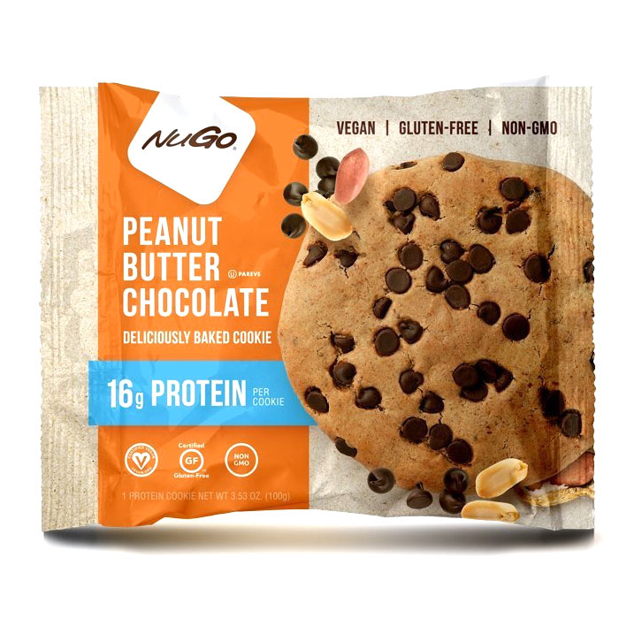 Nugo Protein Cookie 1 Cookie Peanut Butter Chocolate