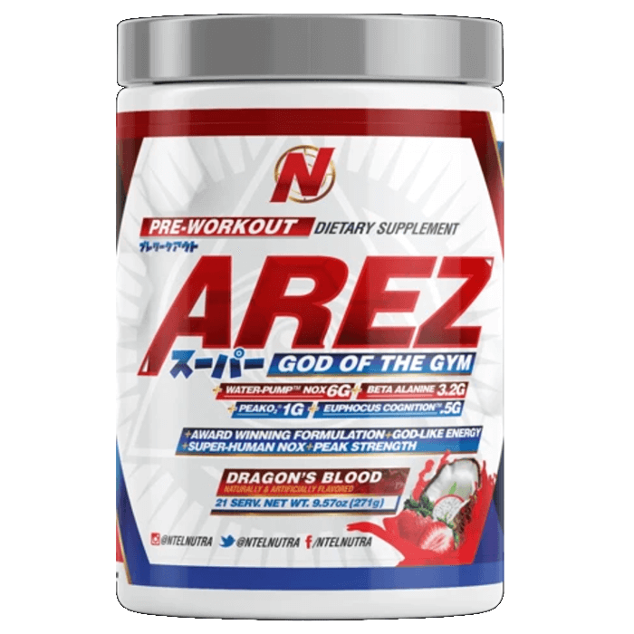 Image of NTEL Nutra Arez Super 21 Servings Dragons Blood