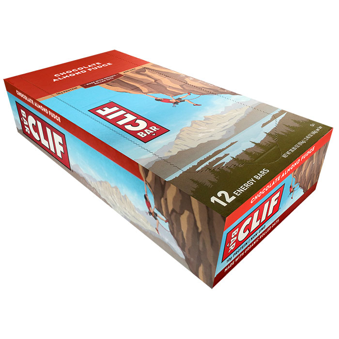 Clif Bar 12 Bars Chocolate Almond Fudge